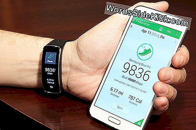 """Samsung Gear Fit and S Health"" programa"